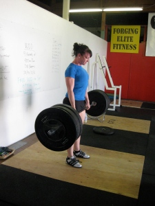 3x3 Deadlifts @ 245#